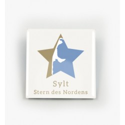 Button/Pin  SYLT STERN DES NORDENS